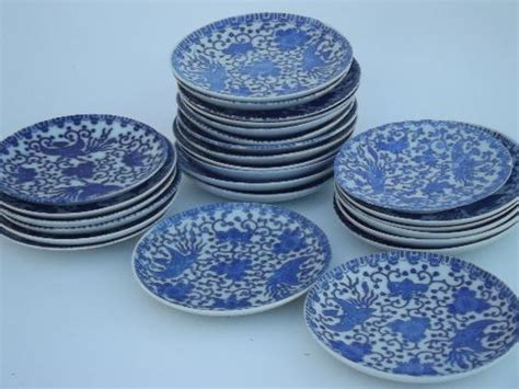 blue and white china l old blue and white china phoenix ware little plates and
