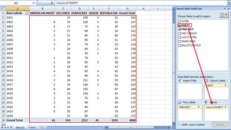 excel spreadsheet pivot table excel pivot table tutorial sle productivity portfolio
