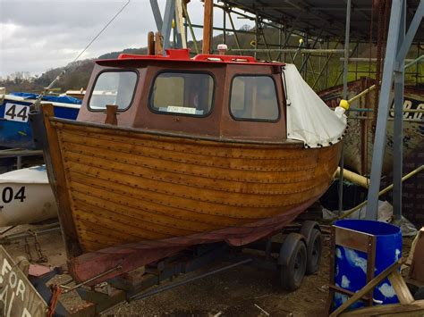 Fishing Boat For Sale Devon by 18ft Clinker Built Fishing Boat For Sale Devon