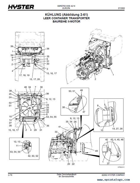 hyster challenger  forklift  parts manual gr