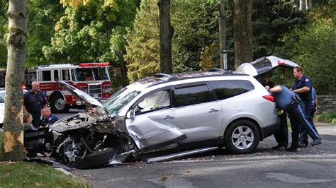 Latest Car Accident Of Chevrolet Traverse  Road Crash