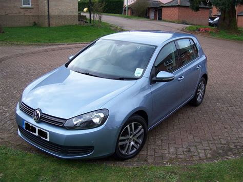 vw golf 1 6 tdi diesel 2010 light blue colour low in needham market suffolk gumtree