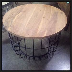 Great wire coffee table nadeau dallas regarding plan for Wire round coffee table