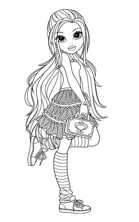 moxie girlz coloring pages   added frequently