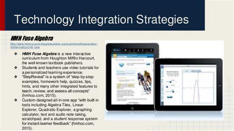 Technology integration for elementary education