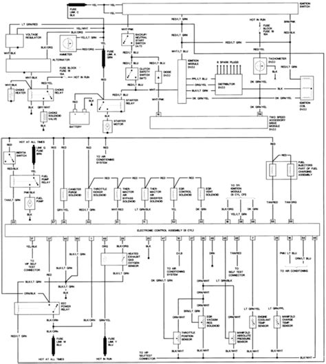 95 Mustang Wiring Diagram by Engine Wiring Diagram For 95 Mustang Gt Auto Electrical