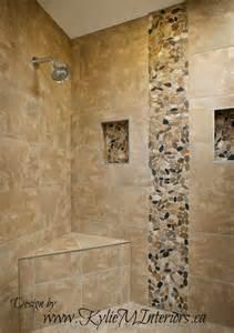 porcelain tile bathroom ideas walk in shower porcelain tile with pebbled vertical on the wall