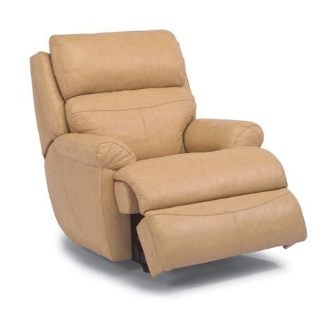 flexsteel latitudes kid glove recliner leather luxury