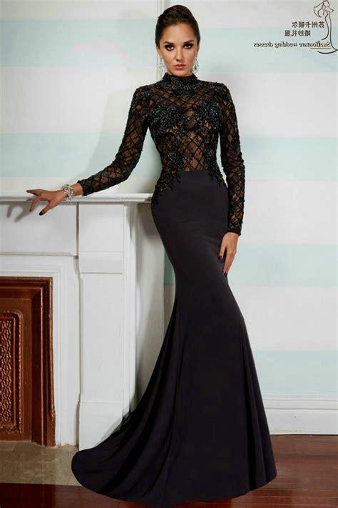 black long sleeve prom dress  naf dresses