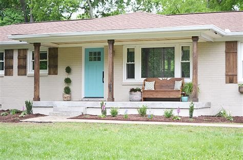Lowe's Home Exterior Makeover Reveal-beneath My Heart