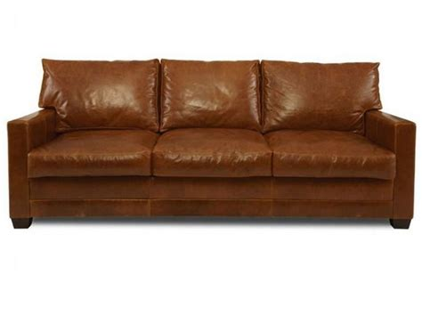 How To Clean A Leather Settee by Lawson Sofa By Elite Leather Furniture Leather Sofa