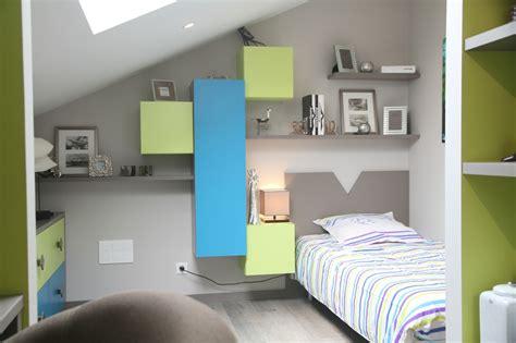 chambre ado vert et gris suggestions pour une déco chambre vert et gris