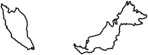 malaysia map black  white google search projects