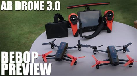 parrot bebop drone preview youtube