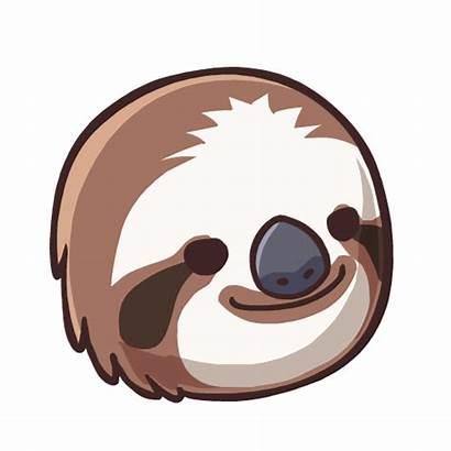 Sloth Clipart Clip Sloths Transparent Drawing Cartoon