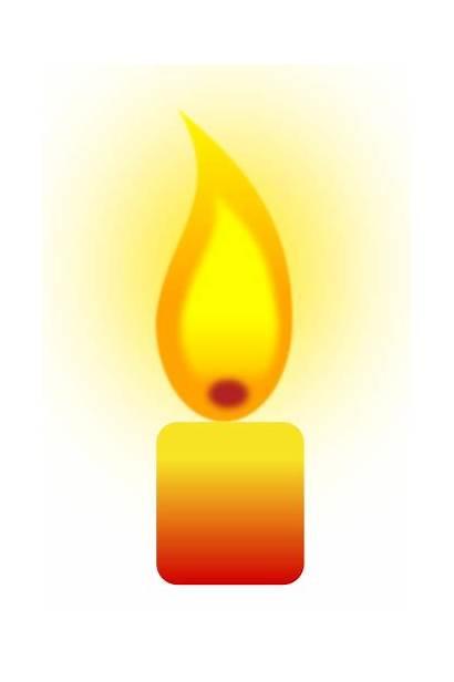 Candle Clipart Burning Vela Clip Candles Velas