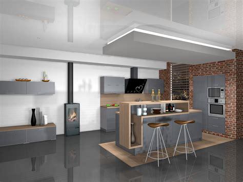 cuisine moderne ilot conception de cuisine design à mérignac cuisines areane
