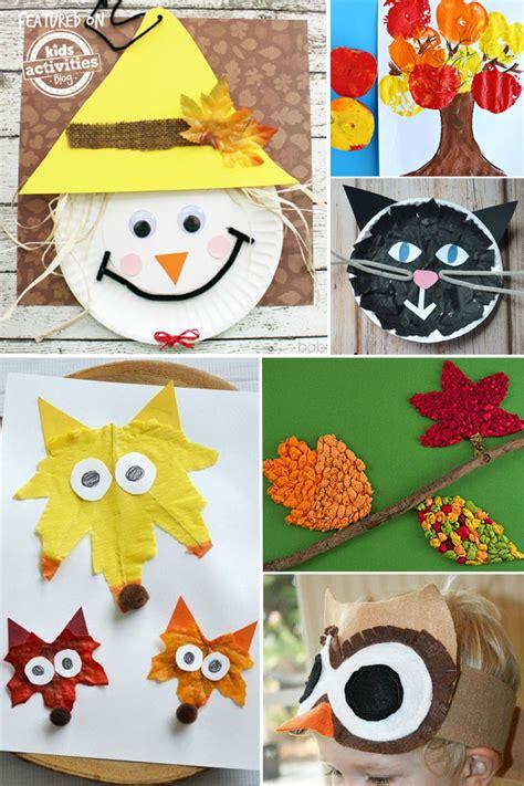 fall crafts for preschoolers 24 super fun preschool fall crafts fullact trending