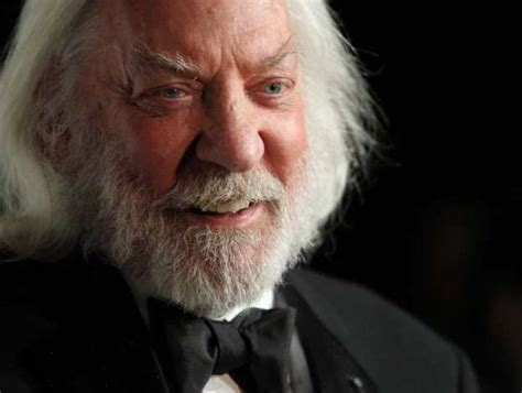donald sutherland president snow who s competing in quot the hunger games quot beaumont enterprise