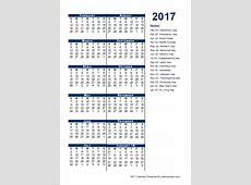 2017 Fiscal Period Calendar 445 Free Printable Templates