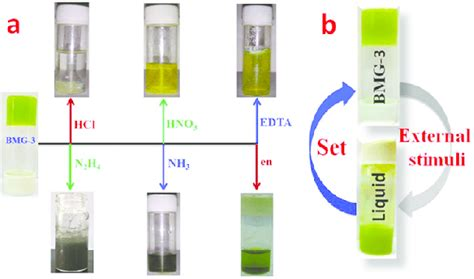 Effect of different chemical stimuli (a) and external stimuli (b) on...   Download Scientific ...