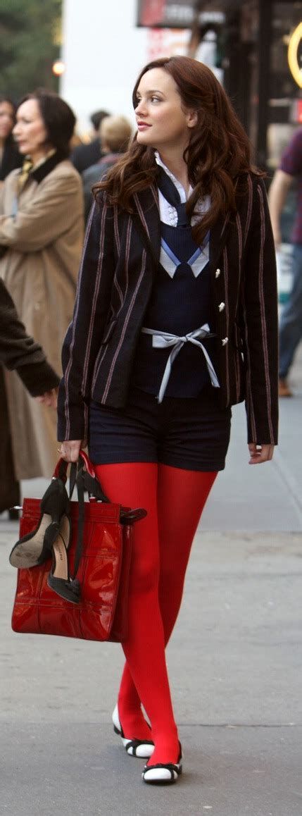 Tips on how to dress like Blair Waldorf | bel920617