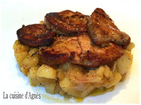 la cuisine d lacuisinedagnes com escalopes de foie gras poêlées pommes