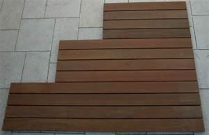 Caillebotis Bois Salle De Bain : grands caillebotis pettite terrasse en bois ~ Premium-room.com Idées de Décoration