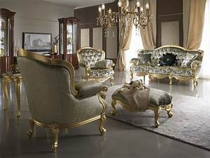 gold and silver living room decor With living room furnishings and design
