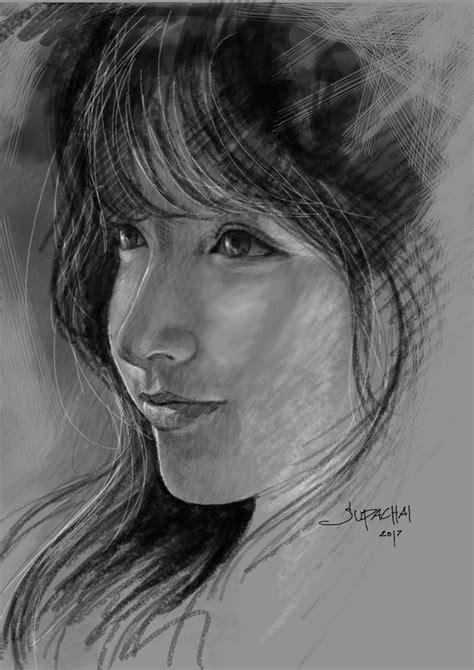 Digital Art drawing By Supachai Areerungruang | Art