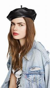 how to wear a beret like a fashion who what wear