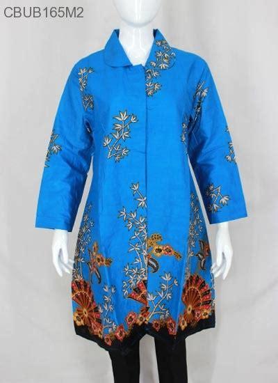 yanna jumbo tunik tunik gantari jumbo motif kipas blus lengan panjang