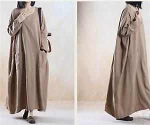 Vêtements En Lin Et Coton : vetement lin grande taille photos de robes ~ Carolinahurricanesstore.com Idées de Décoration