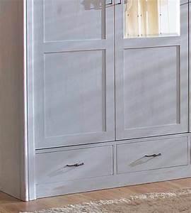 Kleiderschrank Grau Holz : kleiderschrank 2 t rig mit spiegel schubladen optional massiv aus holz ~ Frokenaadalensverden.com Haus und Dekorationen