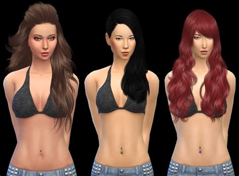 belly piercing   sims  blog sims  updates