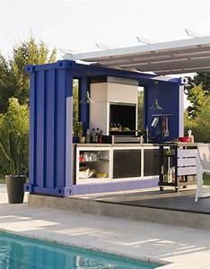 cuisine exterieure 15 modeles pratiques et esthetiques With decoration exterieur pour jardin 15 deco maison cuisine