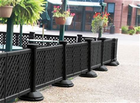 portable decorative patio fence caf 233 furniture belson