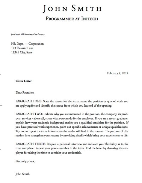 cover letter template  banking position google search