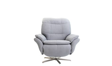 1e Electric Recliner Armchair In Fabric