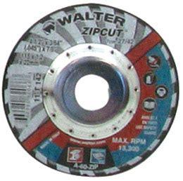 walter         zip cut wheel kms