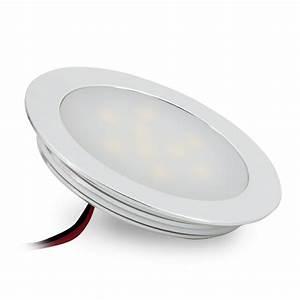 Led Einbauleuchten Bad : ultraflache led einbauleuchte f r feuchtr ume alu matt rund 0 5w warm wei 12v ip67 ~ Watch28wear.com Haus und Dekorationen
