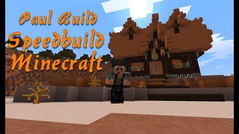 speedbuild minecraft mesa house  youtube