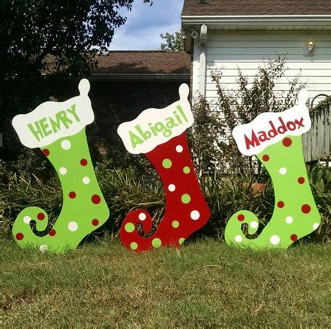 cool outdoor christmas yard decorations animated clearance