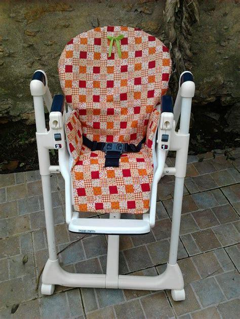 housse pour chaise haute bébé patron grandeur nature tuto housse chaise haute