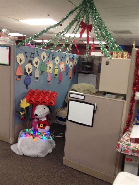 christmas cubicle decorations ideas  pinterest