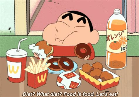 gif cuisine shin chan diet gif find on giphy