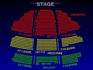 Eugene O Neill Seating Chart Belasco Theatre Group Broadway Seating Chart History