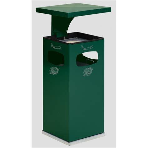 poubelle d exterieur corbeille hilaire seau 40 l corbeille poubelle bois exotique