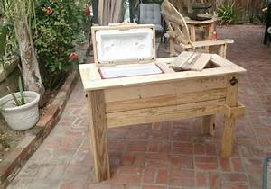 Recycled Pallet Wood Cooler Pallet Ideas: Recycled