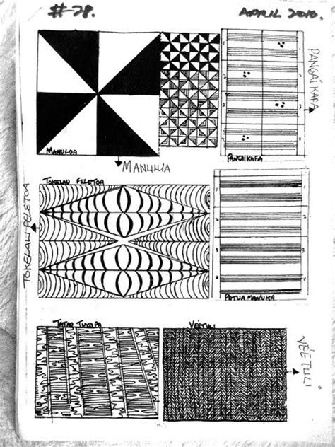 Book Arts in Tonga part 2: Learning Tongan Design and Making Books   Marquesan tattoos
